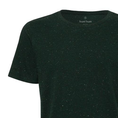 ThokkThokk Man T-Shirt Heather Scarab Green Bio & Fair