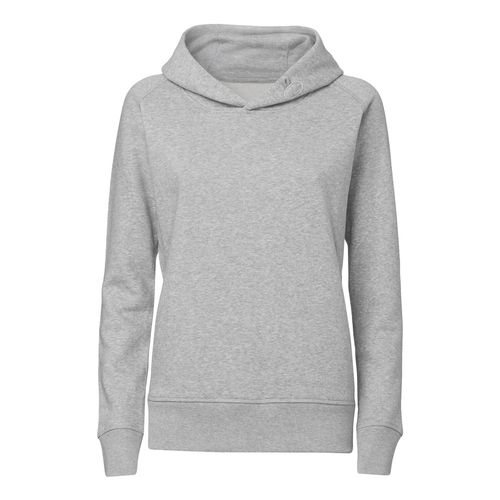 ThokkThokk Woman Hoodie heather grey Bio & Fair