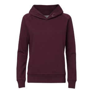 ThokkThokk Woman Hoodie heather grape red Bio & Fair