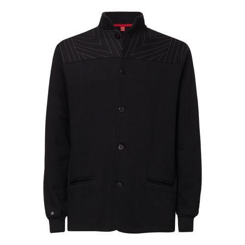 2. Wahl ThokkThokk TT1009 Button Jacket Tapestry man black aus 100% Biobaumwolle // GOTS und Fairtrade zertifiziert