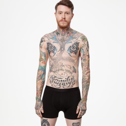 ThokkThokk Men Boxershorts Black Organic Fair