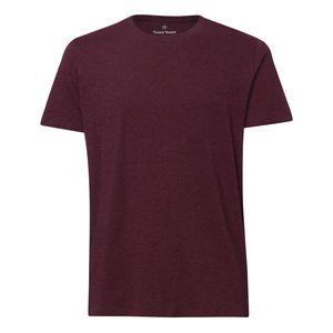 ThokkThokk Herren T-Shirt Heather Grape Red Bio & Fair