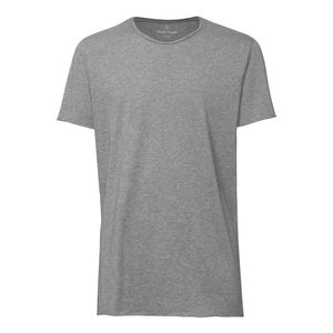 ThokkThokk Man Long T-Shirt Mid Heather Grey Bio & Fair