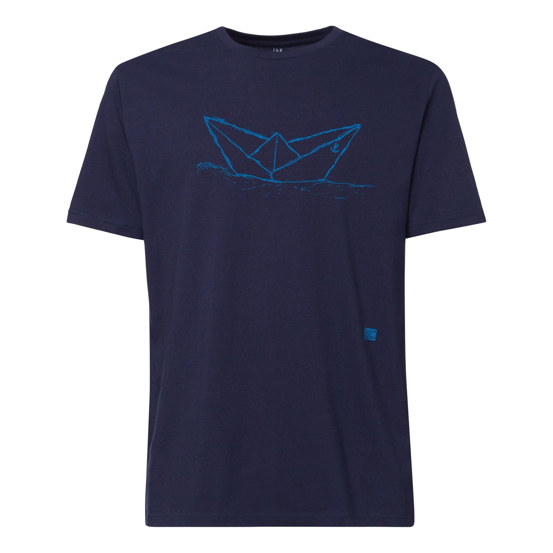 ilovemixtapes Paperboat T-Shirt blue/midnight