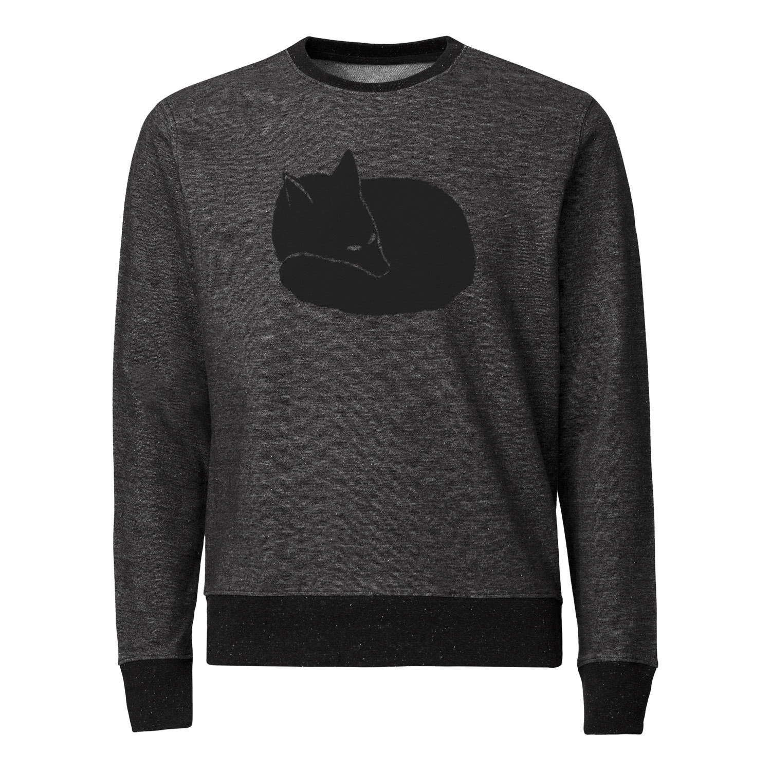 ilovemixtapes Fuchs Sweatshirt black/stretch limo