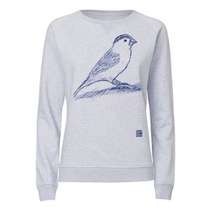 ilovemixtapes Spatz Sweatshirt midnight/light heather lilac made of 100% organic cotton // GOTS & Fairtrade certified