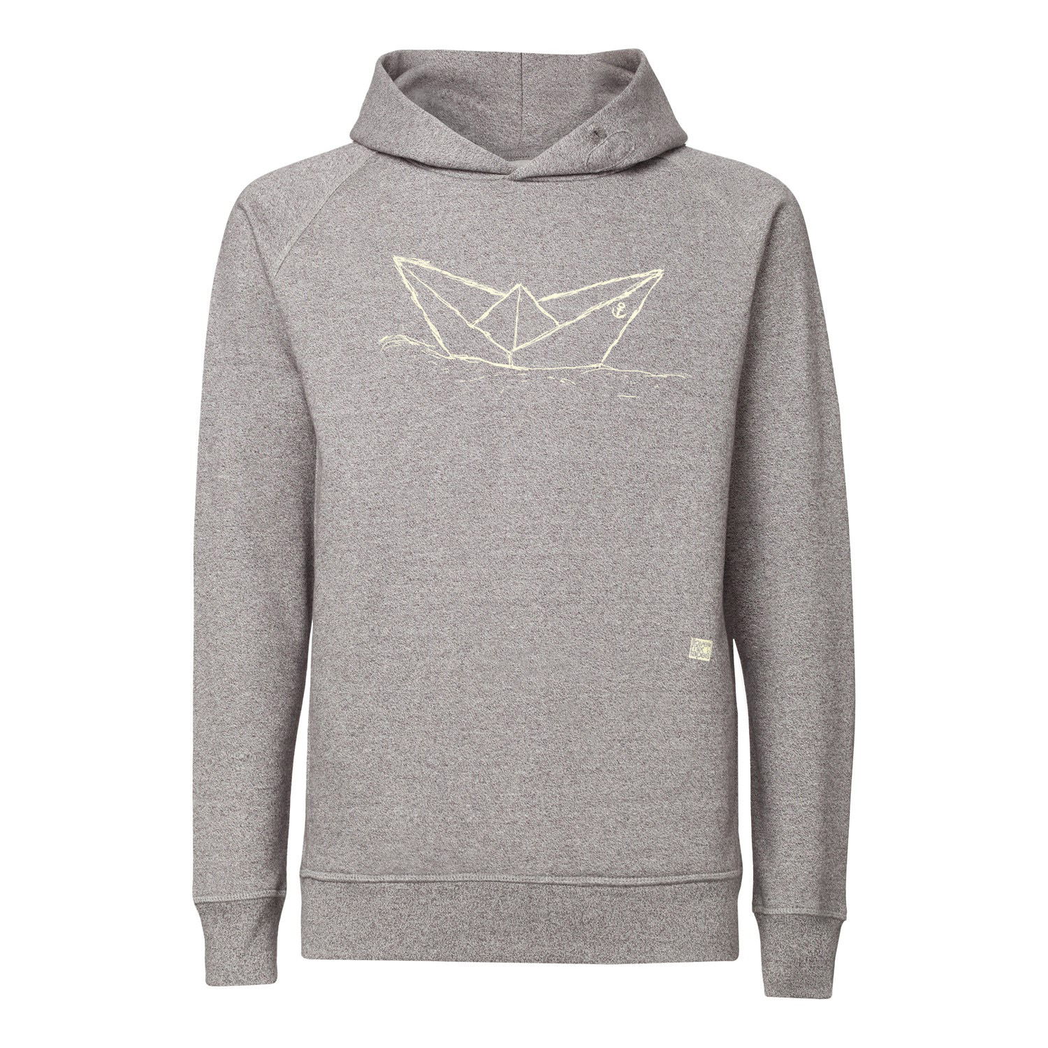 ilovemixtapes Paperboat Kapuzensweatshirt creme/heather stone