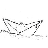 Bild 2 - ilovemixtapes Paperboat Kapuzensweatshirt white/navy