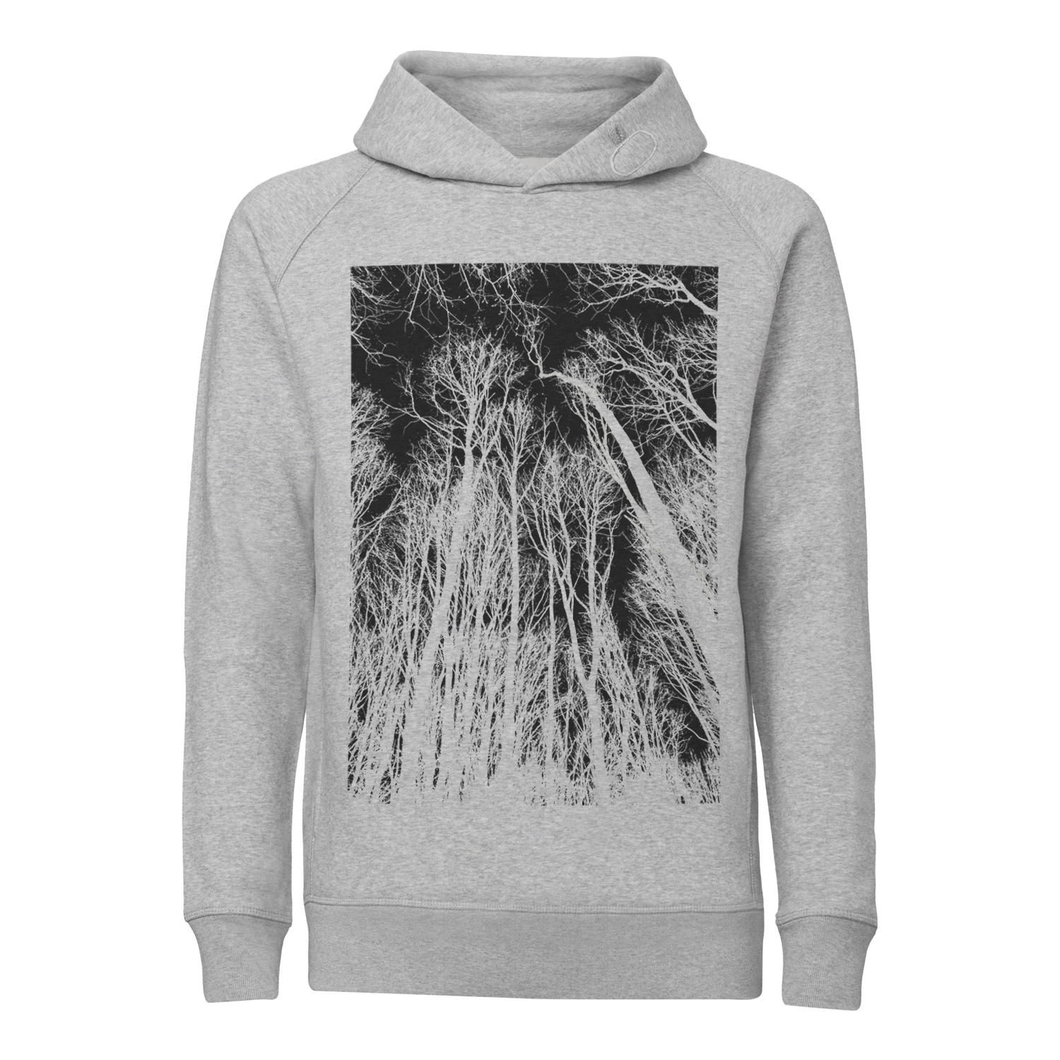 ilovemixtapes Forest Kapuzensweatshirt black/heather grey