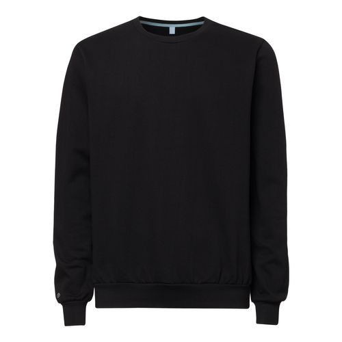 B-stock ThokkThokk TT29 Pullover Black made of 100% organic cotton // GOTS & Fairtrade certified