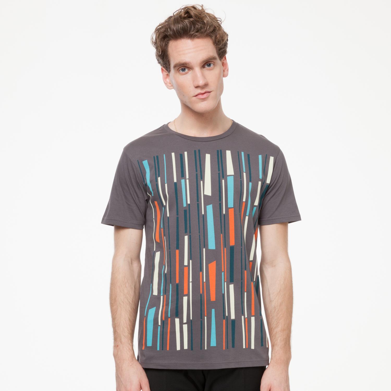 Bamboo T-Shirt castlerock GOTS & Fairtrade