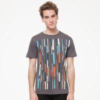 Bild 2 - Bamboo T-Shirt castlerock GOTS & Fairtrade