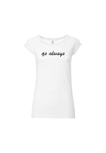 100for10 Damen T-Shirt Myla Dalbesio Schwarz Weiß Bio Fair