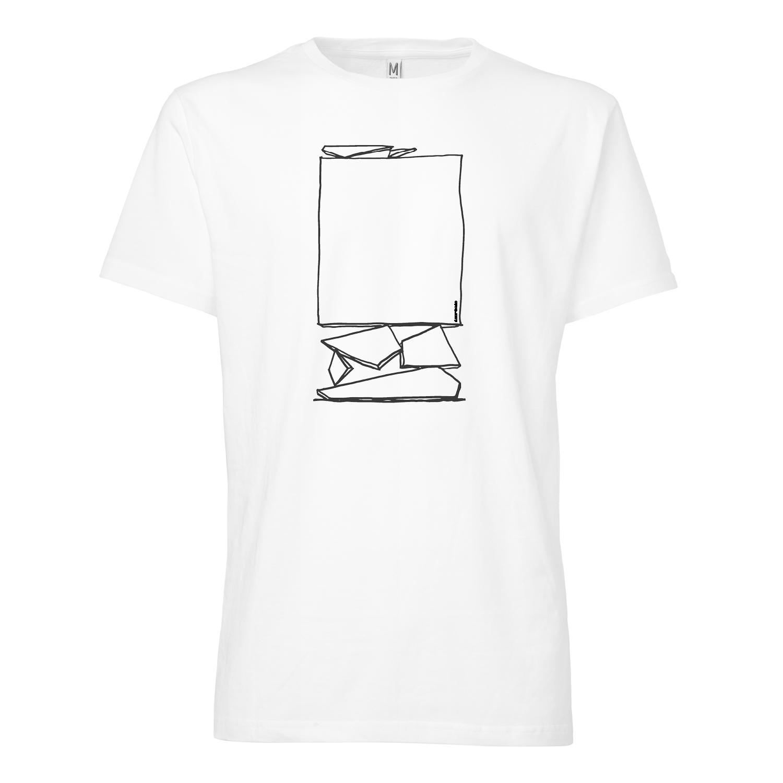 100for10 MRKA T-Shirt black/white GOTS & Fairtrade