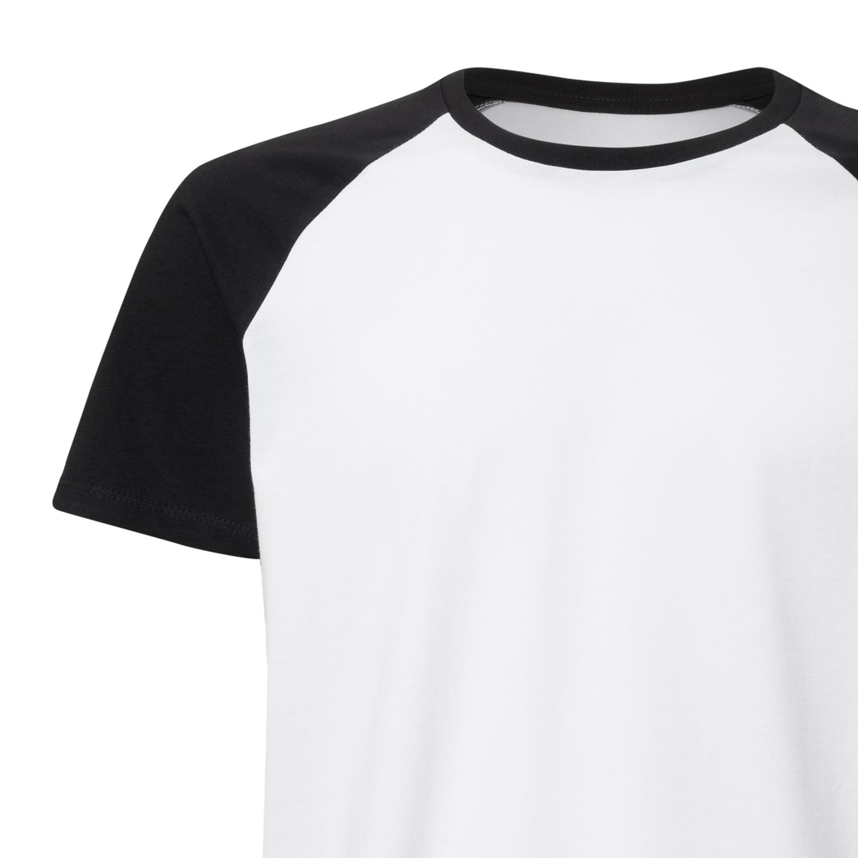 084ec3b1e Unisex Baseball-T-Shirt White/Black Organic & Fair Unisex Longsleeve ...
