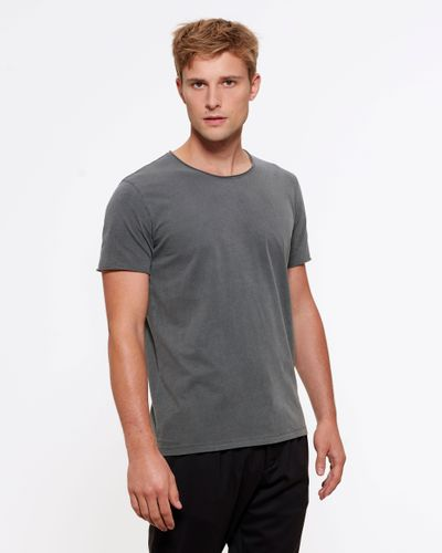 ThokkThokk Man Vintage T-Shirt Garment Dyed Anthracite made of 100% organic cotton // Organic and Fair