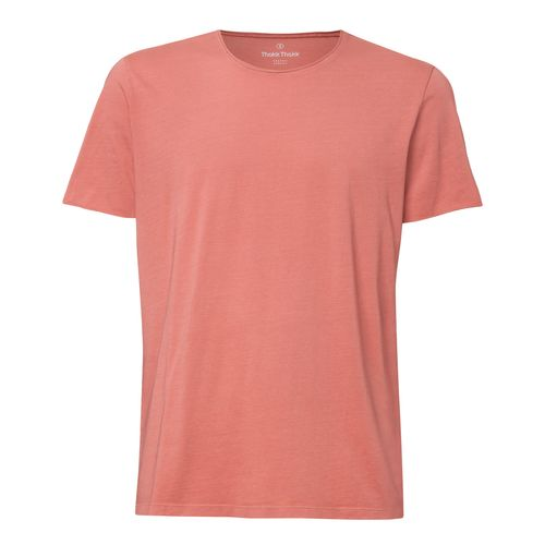 ThokkThokk Man Vintage T-Shirt Garment Dyed Salty Rose made of 100% Biobaumwolle // Organic and Fair