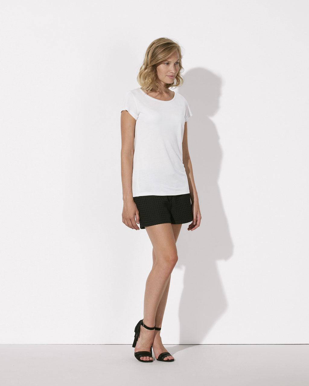 Modal T-Shirt White
