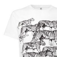 Bild 10 - Tiger T-Shirt black/white GOTS & Fairtrade