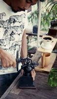Bild 4 - Tiger T-Shirt black/white GOTS & Fairtrade