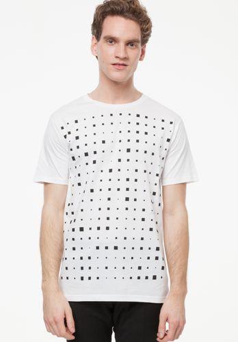 ThokkThokk Herren T-Shirt Drift Weiß Bio Fair
