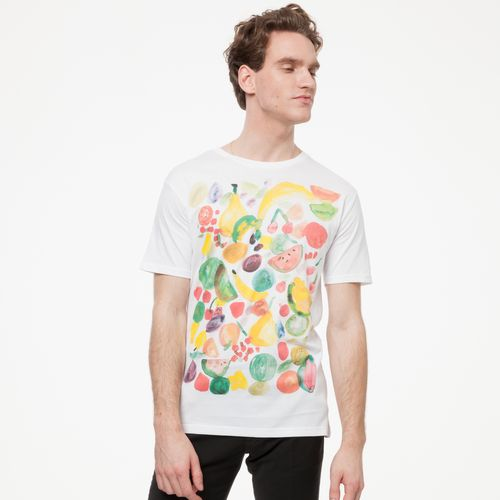 ThokkThokk Fruits T-Shirt white made of 100% organic cotton // GOTS and Fairtrade certified