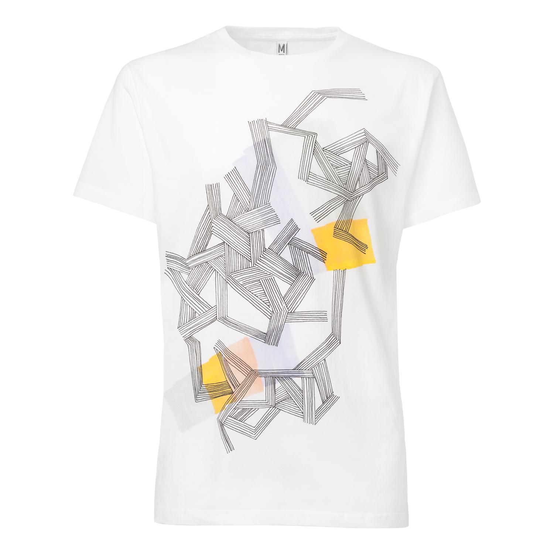 Fiber T-Shirt white GOTS & Fairtrade
