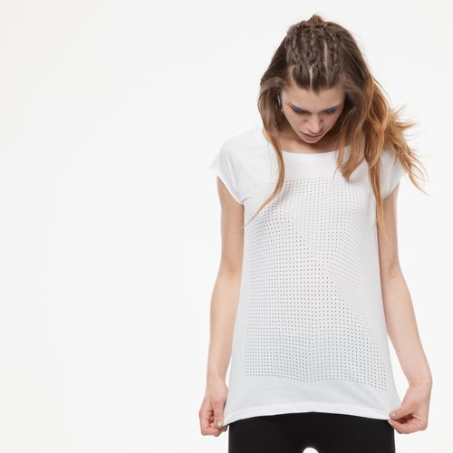 ThokkThokk Crooked Dots Cap Sleeve black/white made of 100% organic cotton // GOTS and Fairtrade certified