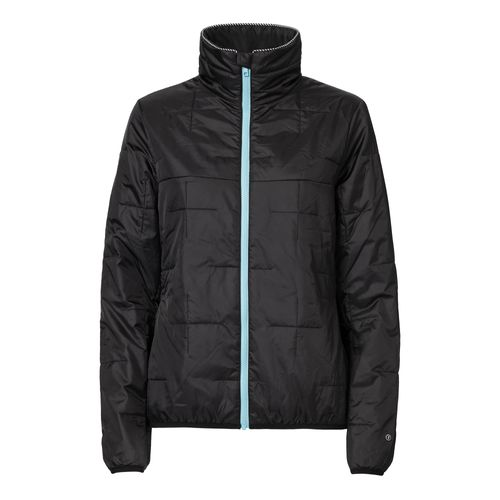 ThokkThokk TT2001 Light Kapok Anorak Black/Blue Woman PETA-Approved Vegan