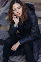 Bild 2 - TT2003 Kapok Coat Woman Black PETA-Approved Vegan