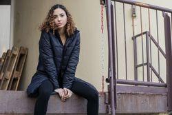 Bild 5 - TT2003 Kapok Coat Woman Black PETA-Approved Vegan