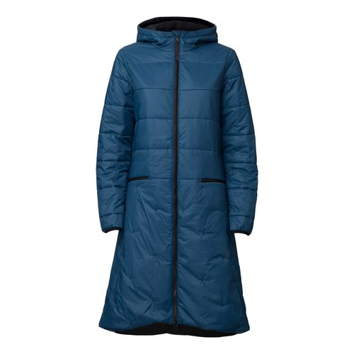 ThokkThokk TT2003 Kapok Coat Woman Blue/Black PETA-Approved Vegan