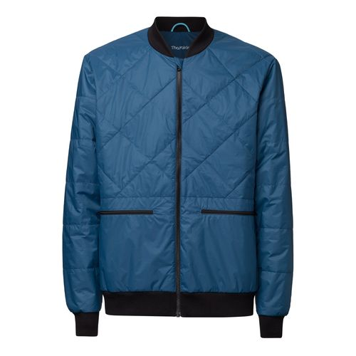 ThokkThokk TT2004 Light Kapok Blouson Man Blue PETA-Approved Vegan