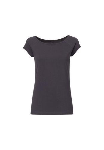 ThokkThokk TT01 Cap Sleeve 2.0 T-Shirt Woman Dark Grey made of organic cotton // Organic and Fairtrade certified