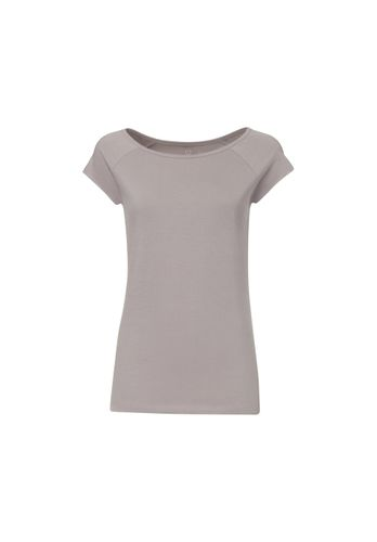 ThokkThokk TT01 Cap Sleeve 2.0 T-Shirt Woman Grey made of organic cotton // Organic and Fairtrade certified
