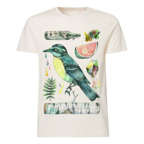 Yackfou Kolibri T-Shirt natural made of 100% organic cotton // Organic and Fair
