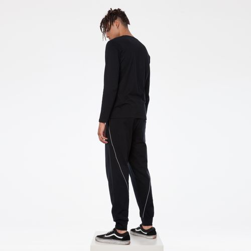 ThokkThokk TT1010 Joggingpants Black Man made of 100% organic cotton // GOTS & Fairtrade certified