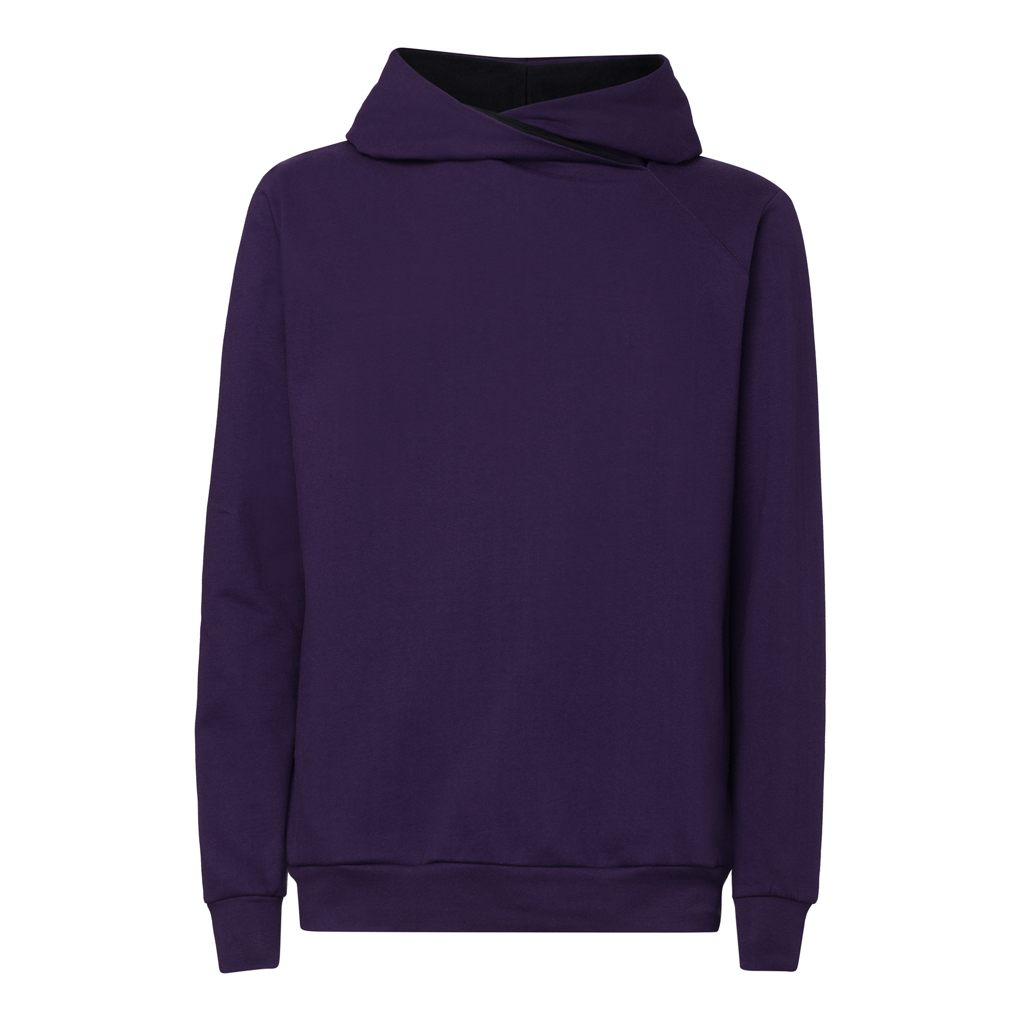 TT1025 Cross Hoodie Eggplant Man GOTS & Fairtrade