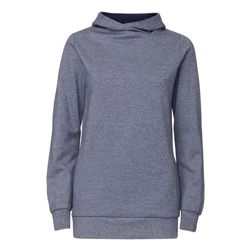 ThokkThokk TT1026 Cross Hoodie Salt&Pepper/Midnight Woman made of 100% organic cotton // GOTS and Fairtrade certified