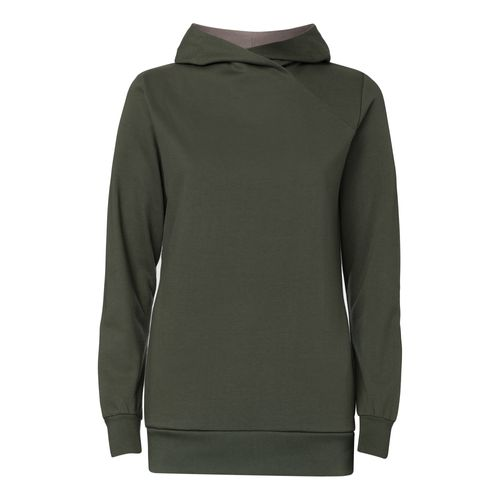 ThokkThokk TT1026 Cross Hoodie Moss Woman made of 100% organic cotton // GOTS and Fairtrade certified