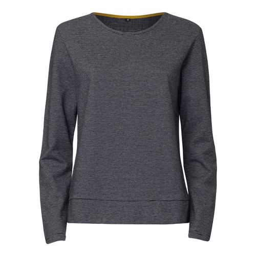 ThokkThokk TT1027 Box Sweater Microstripes Woman made of 100% organic cotton // GOTS and Fairtrade certified