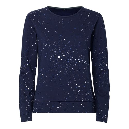 ThokkThokk Galaxy TT1027 Box Sweater Woman midnight made of 100% organic cotton // GOTS and Fairtrade certified