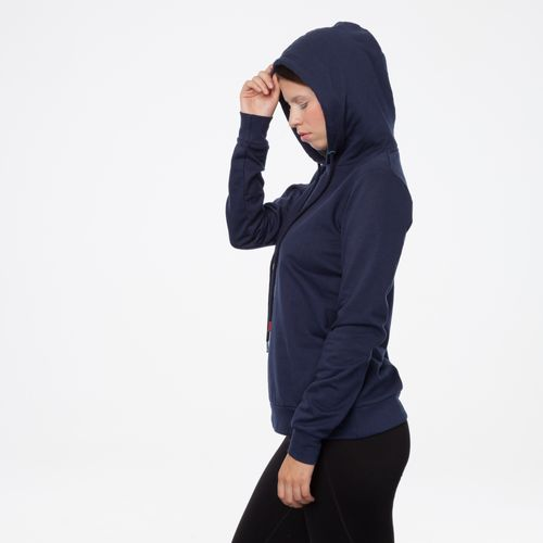 ThokkThokk TT1028 Hooded Sweater Midnight Woman made of 100% organic cotton // GOTS and Fairtrade certified
