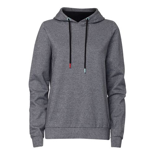 ThokkThokk TT1028 Hooded Sweater Salt&Pepper/Black Woman made of 100% organic cotton // GOTS and Fairtrade certified