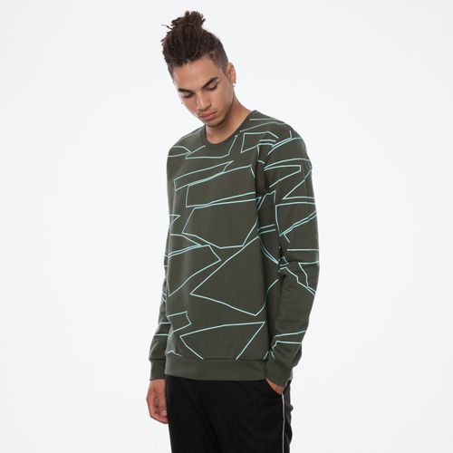 ThokkThokk Arctic TT29 Pullover Man moss made of 100% organic cotton // GOTS & Fairtrade certified