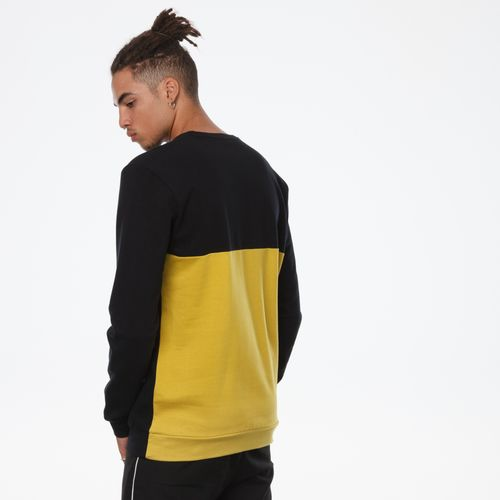 ThokkThokk TT29 Pullover Black & Sulphur made of 100% organic cotton // GOTS & Fairtrade certified