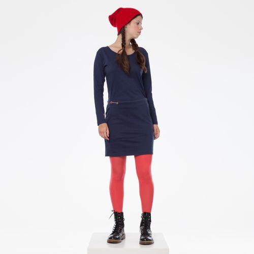 ThokkThokk TT1033 Miniskirt Dark Blue made of organic cotton // Organic and Fairtrade certified