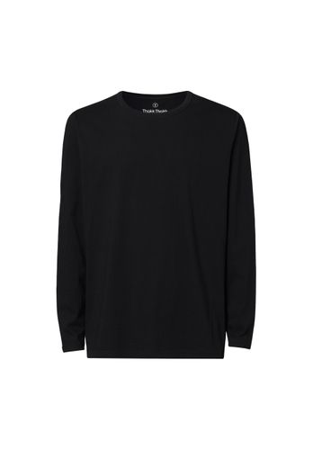 ThokkThokk Men Longsleeve Black Organic Fair