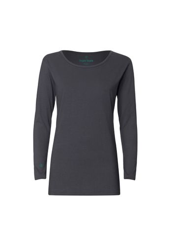 ThokkThokk TT32 Longsleeve Asphalt made of 100% organic cotton // GOTS and Fairtrade certified