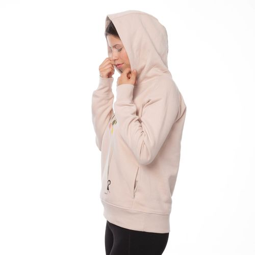 FellHerz Balloons Hoody faded nude made of organic cotton // Organic and Fair
